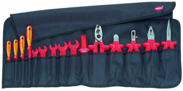 ドイツの高級ブランド KNIPEX(クニペックス) 絶縁工具セット