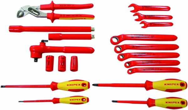 KNIPEX(クニペックス) 絶縁工具セット(HV車/EV車向け)
