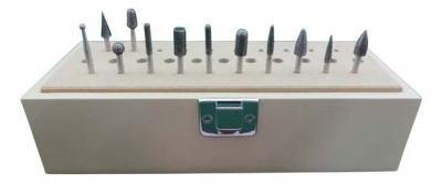 Leutor(リューター)異形状ボラゾン砥石セット軸径φ3.0mm12本入