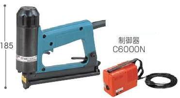 マキタ電気タッカステープル幅4mm制御器C6000N付T422NW