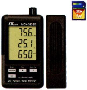 Mother Tool(マザーツール)SDスロット付データロガデジタル温湿度・CO2計MCH-383SD