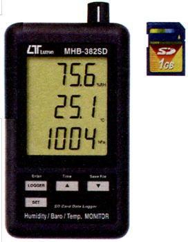 Mother Tool(マザーツール)デジタル温湿度・気圧計MHB-382SD
