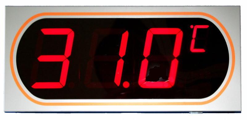 Mother Tool(マザーツール)デジタルLED表示大文字温度計 MT-872
