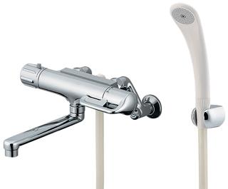 カクダイ JISサーモスタットシャワー混合栓 寒冷地使用適合品