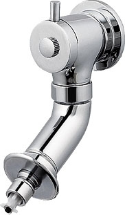 カクダイ 洗濯機用水栓 ストッパー、水撃低減付き