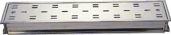 カクダイ 浴室用排水ユニット 長方形排水溝 100×800