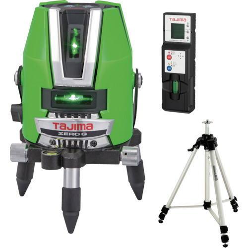 タジマレーザー墨出器 ゼロジーKJY(縦:4方向/横:1方向/地墨) 受光器・三脚セット ZEROG-KJYSET