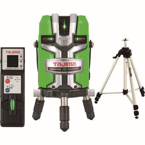 タジマレーザー墨出器 ゼロジーセンサーKJC(縦:4方向/横:全周/地墨) 受光器・三脚セット ZEROGS-KJCSET