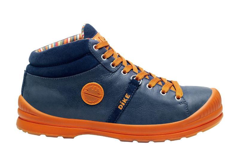 DIKE(ディーク) 作業靴サミットアドリアンネイビー 27.5cm