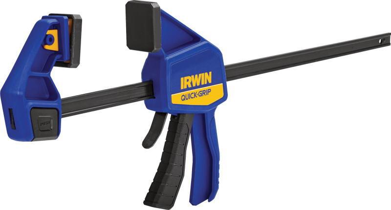 IRWIN 保証 アーウィン 450mm 購買 クイックグリップMDワンハンドバークランプ