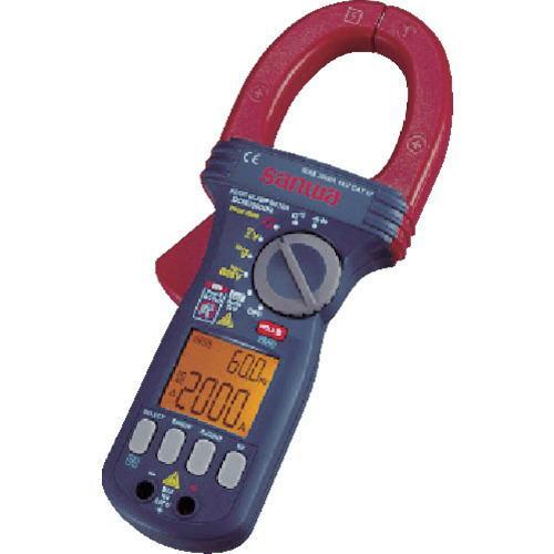 サンワ(SANWA)DC/AC両用デジタルクランプメーター DCM2000DR