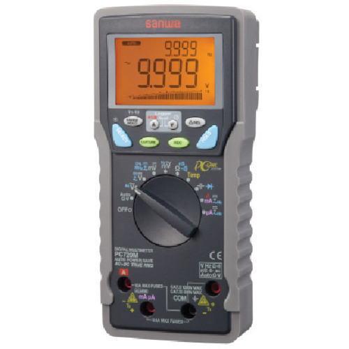 サンワ(SANWA)高精度パソコン接続型デジタルマルチメーター PC720M