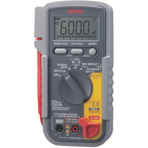 サンワ(SANWA)デジタルマルチメーター CD732