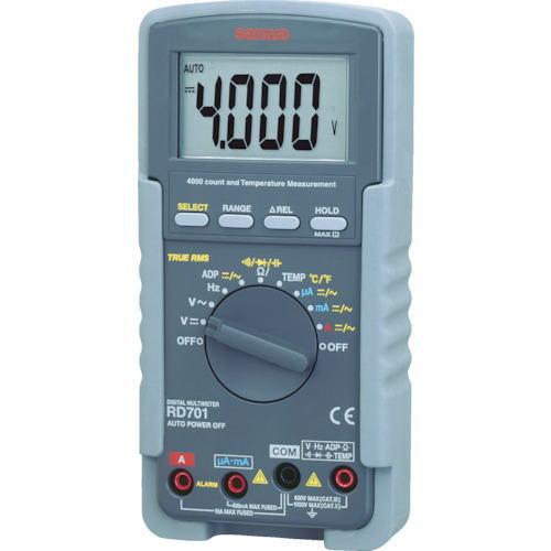 サンワ(SANWA)デジタルマルチメータ(真の実効値対応) RD701