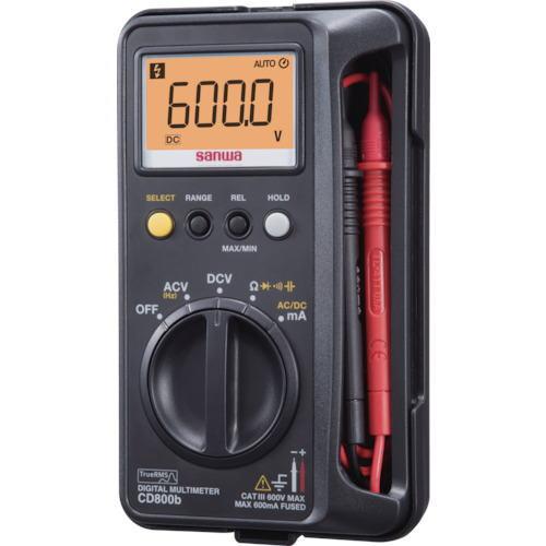 サンワ(SANWA)デジタルマルチメーター CD800b