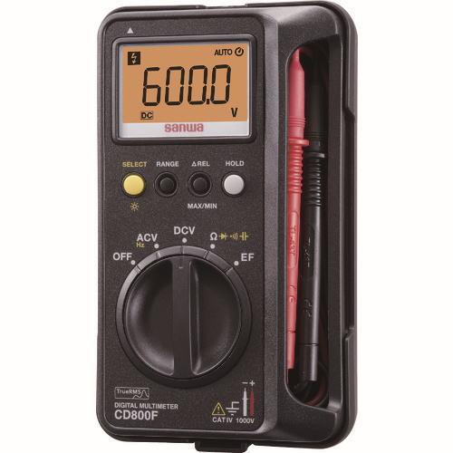 サンワ(SANWA)デジタルマルチメーター CD800f
