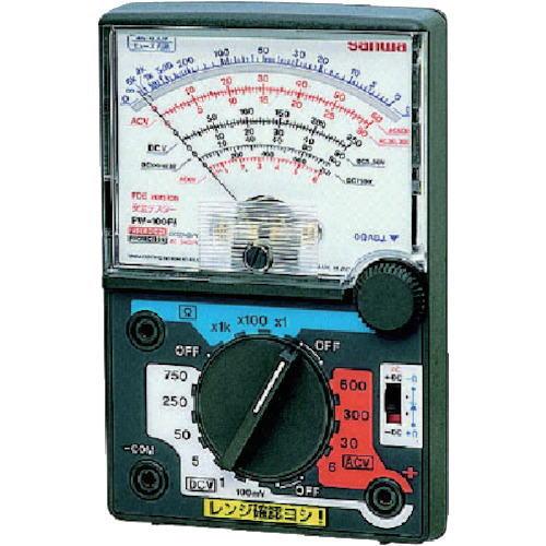 サンワ(SANWA)電圧専用アナログマルチテスター PW-100FB