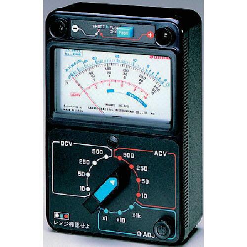 サンワ(SANWA)電圧測定用アナログマルチテスター VS-100