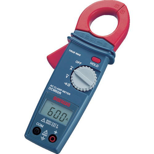 サンワ(SANWA)AC専用真の実効値対応デジタルクランプメーター DCM60R