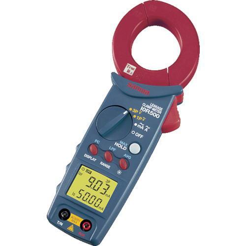 サンワ(SANWA)アイゼロアールリーククランプメーター(漏れ電流計測用) I0R500