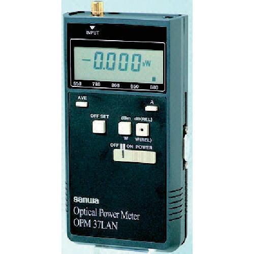 サンワ(SANWA)光パワーメーター FC型コネクタ OPM37LAN