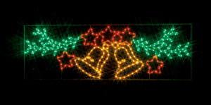 JEFCOMLEDイルミネーション LEDモチーフ(全点灯) ベルと星