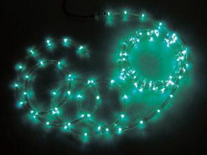 JEFCOMLEDソフトネオン パーツ連結型 緑色×緑色 64m