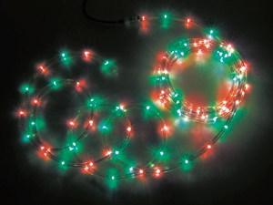 JEFCOMLEDソフトネオン パーツ連結型 赤色×緑色 64m