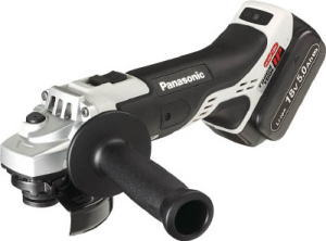 Panasonic(パナソニック)充電ディスクグラインダー100 グレー 18V 5.0Ah 電池2個付セットEZ46A1LJ2G-H