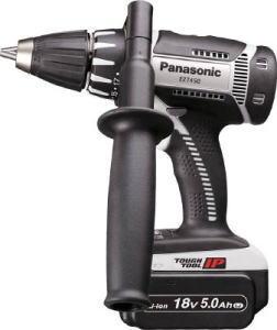 Panasonic(パナソニック)充電ドリルドライバー グレー 18V 5.0Ah 電池2個付EZ7450LJ2S-H
