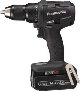 Panasonic(パナソニック)充電振動ドリル&ドライバー 黒14.4V 5.0Ah 電池2個付セットEZ79A2LJ2F-B