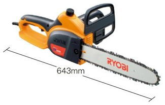 RYOBI(リョービ)電気式チェンソー有効切断300mmCS-3005