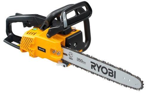 RYOBI(リョービ)エンジンチェンソー切断350mmES-3135