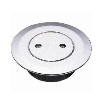 サンエイ(三栄水栓)兼用ツバ広掃除口 150 H52-2-150