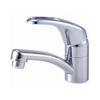 サンエイ(三栄水栓)シングルワンホール洗面混合栓寒冷地用洗面所用K476NK