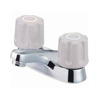 サンエイ(三栄水栓)ツーバルブ洗面混合栓 寒冷地用洗面所用K511NPK-LH