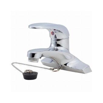 サンエイ(三栄水栓)シングル洗面混合栓洗面所用K5710V