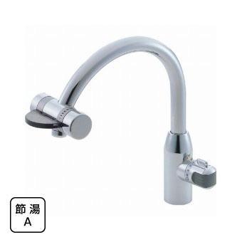 サンエイ(三栄水栓)ミキシングワンホール混合栓(先止)キッチン用K8660V