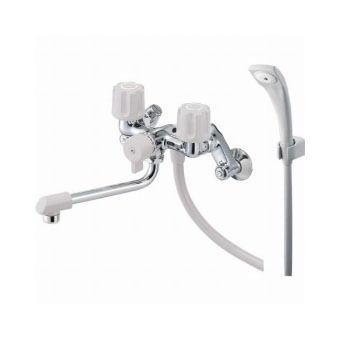 サンエイ(三栄水栓)ツーバルブシャワー混合栓 寒冷地用(一時止水)バスルーム用SK1104DK-LH