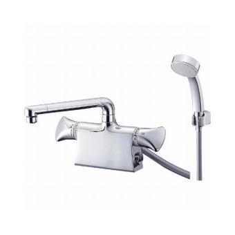 サンエイ(三栄水栓)サーモデッキシャワー混合栓 寒冷地用バスルーム用SK7801DS9K