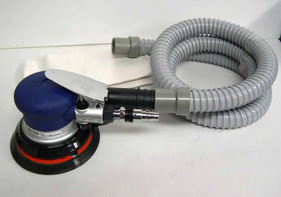 UNITED 吸塵式エアーサンダー 125mm