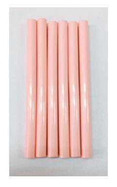 For the hot glue gun glue sticks pink 6 PCs