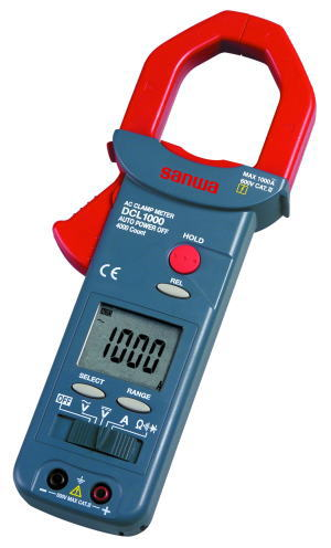 サンワ(SANWA)大口径クランプメーター AC専用 DCL1000