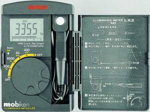 サンワ(SANWA)デジタル照度計 LX2