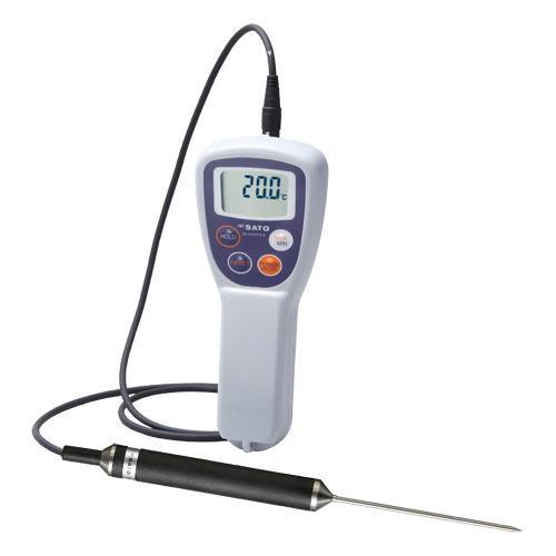 SATO(佐藤計量器)防水型食品用デジタル温度計(スタンダードタイプ) SK-250WPII-N