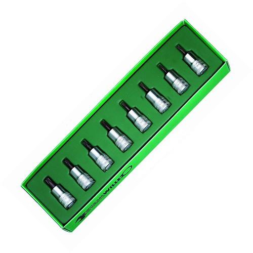 STAHLWILLE(スタビレー) 3/8SQヘックスローブビットソケットセット