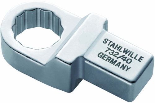 STAHLWILLE(スタビレー) トルクレンチ用ヘッド メガネ:13mm