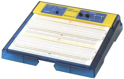 サンハヤト(Sunhayato) デジタル回路対応電源内蔵ブレッドボード SRX-42PD