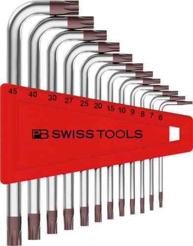 PB SWISS セール 登場から人気沸騰 TOOLSL型ヘクスローブレンチセット 6-45 超安い 410H