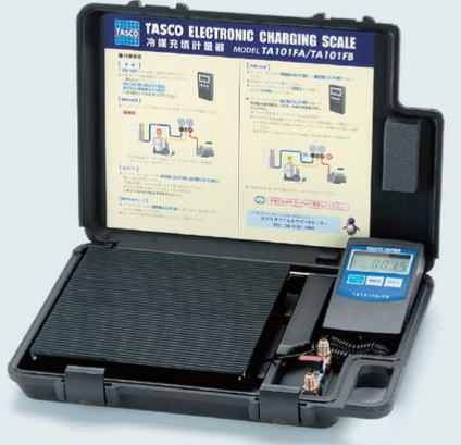 TASCO(タスコ)高精度エレクトロニックチャージャー ポート付きTA101FB